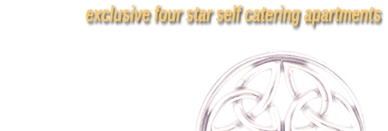exclusive four star self catering apartments, Bridgend, Ramelton, Co. Donegal, Ireland, Tel: +353 86 849 3899