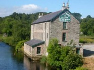 The Tanyard Self-Catering Apartments, Ramelton, Co. Donegal, Ireland on the bank of the River Lennon