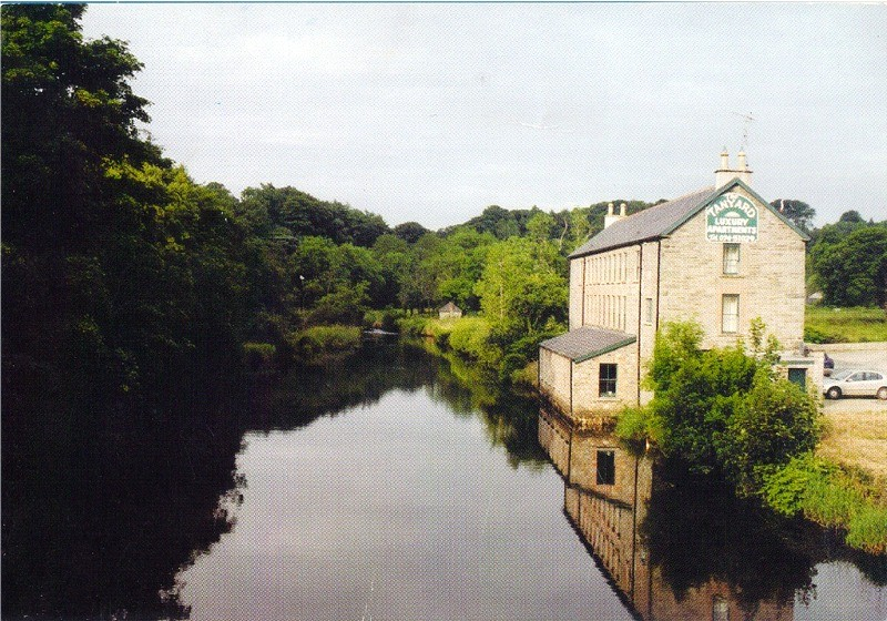 Four Self-Catering Holiday Apartments overlooking the River Lennon - The Tan Yard Historic Building in Ramelton, County Donegal, Ireland