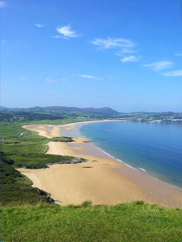 Ballymastocker Bay Blue Flag Beach, Portsalon, voted as the second most beautiful beach in the World, just a short drive from The Tanyard Self-catering Apartments, Ramelton, Co. Donegal, Ireland